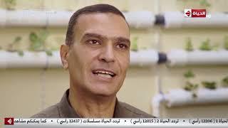 قهوة أشرف - المهندس أحمد الخولي يتحدث عن مشروعه الزراعة المائية