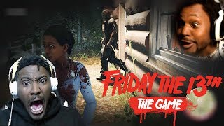 JASON WAS A FREAKIN' SAMURAI! AND HE WANT OUR BOOTY MEAT | Friday The 13th Gameplay (w/Poiised)