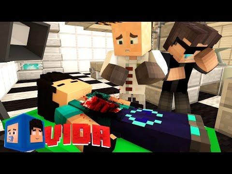 Minecraft Vida REZENDE MORREU 23