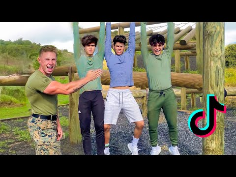 TikTokers vs Military Obstacle Course