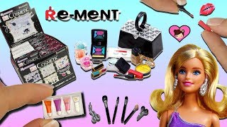 Barbie Doll Miniature Make up Collection - Dollhouse Toy Cosmetic Rement