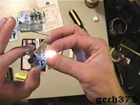 How to make a Tip Up Light