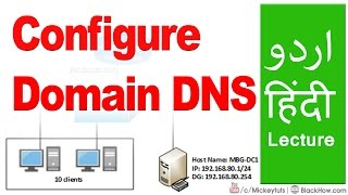 How to Configure a Domain Name (DNS) with Hosting Server | Urdu/Hindi Tutorial