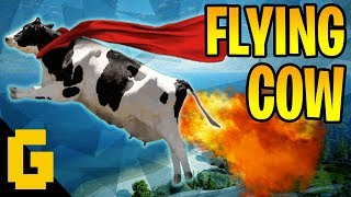 ROCKET COW EXPERIENCE - Random moments #1 (Just Cause 3, MGS V, Dying Light...)