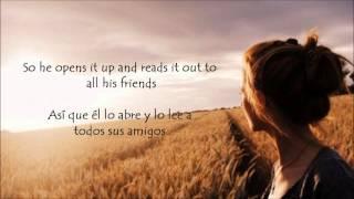 Angus and Julia Stone -Paper Plane [Lyrics -español]