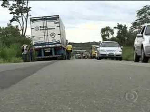 Acidente na BR 262 deixa seis mortos em Juatuba