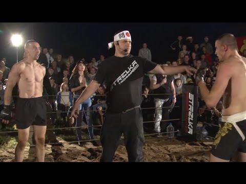 MMA vs Muay Thai fighter Street Fight