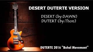 DESERT BISAYA BERSION (DUTERT)