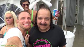 WET T SHIRT CONTEST at DANTE POOL PARTY in KEY WEST  for FANTASY FEST with RON JEREMY