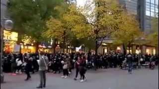 Muslim jihadist demonstration in Germany, Hannover