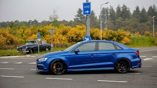 480HP Audi S3 Sedan w/ Milltek Exhaust - LOUD Accelerations !