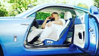 DJ Khaled Shows Drake His Car Collection ''You Know I Got The Best Cars In The Game''