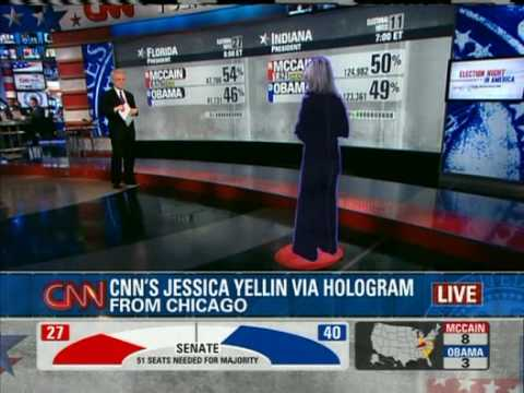 CNN Hologram TV First