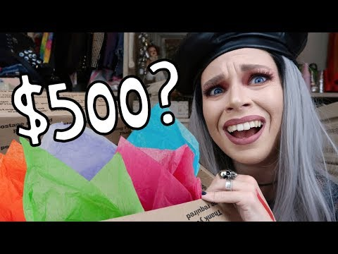 I Bought A 500 LUXURY Mystery Box from Ebay OMG WHY