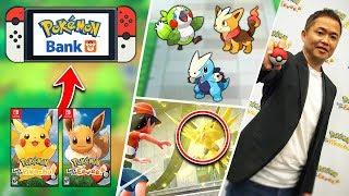 Masuda Gives TONS OF NEW INFO on Pokémon GENERATION 8 & Pokémon Let