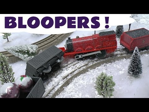 Funny Thomas And Friends Engine Accidents Crashes Bloopers Kids Toy Train Set Blooper Train Crash