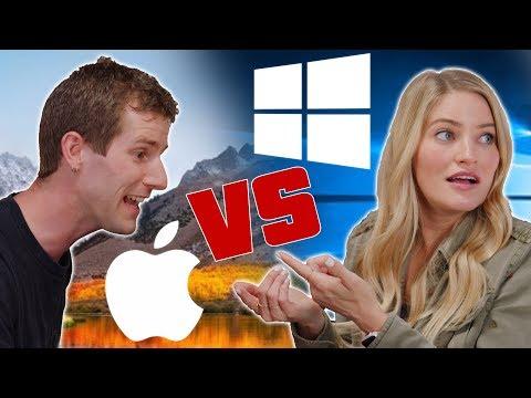 Xxx Mp4 Mac Vs PC ROLE REVERSAL Feat IJustine 3gp Sex