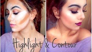 Cream Highlight & Contour | Makeup Tutorial ♡