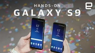 Samsung Galaxy S9 Hands-On at MWC 2018