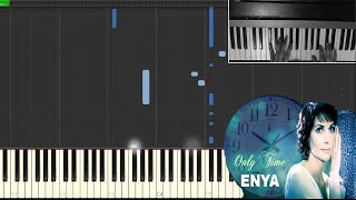 Enya - Only Time - *Piano Tutorial (How To Play Piano Online)* - Easy (Jacob Price)