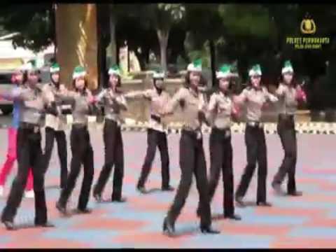 Senam Maumere Polres Purwakarta - Polda Jabar