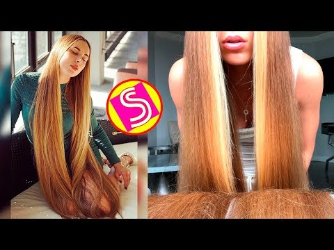 Xxx Mp4 Oddly Satisfying Rapunzel Hair Video Extremely Long Hair Girls Rapunzels In Real Life 2018 3gp Sex
