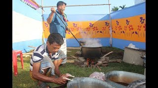 Marriage program in my village and food for 300 people