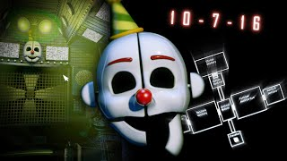 FNAF: Sister Location RELEASE DATE CONFIRMED + Map Layout In-Depth Analysis