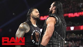 Roman Reigns accepts Drew McIntyre's WrestleMania challenge: Raw, March 25, 2019