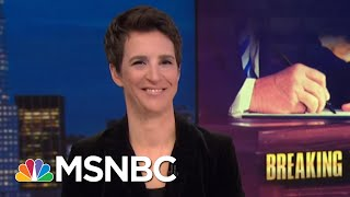 Without Iran Plan, President Trump Destroys US Credibility & Betrays Allies | Rachel Maddow | MSNBC