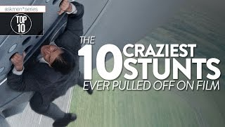 10 CRAZY Stunts That Came Before Mission: Impossible 5 | Top 10