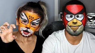 REALISTIC MAKEUP COSTUMES WITH GIRLFRIEND