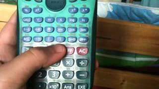 Comment réinitialiser sa calculatrice