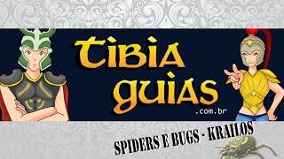 [TibiaGuias] Brimstone Bugs e Giant Spiders - Krailos (para Knight) - TUTORIAL