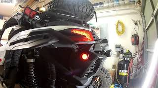 Can Am  X3 Turn signal   Part 3 continued