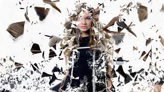 photoshop cs6/cc Broken glass dispersion effect photoshop tutorial