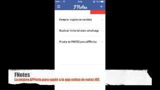 FNotes, la mejora alternativa a la app notas de iOS