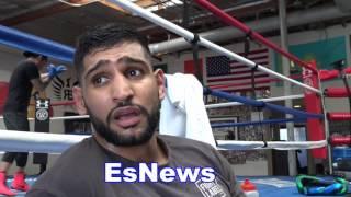 Amir Khan Had Danny Jacobs Winning The GGG Fight by 1 Rd - EsNews Boxing