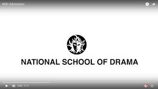 NSD Admission