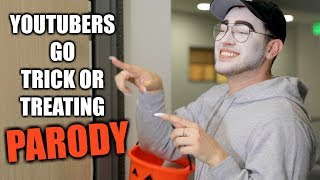 YOUTUBERS GO TRICK OR TREATING 2017