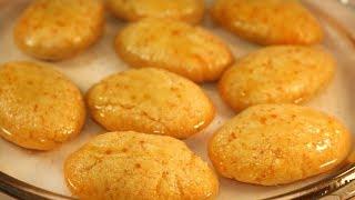 """""""ওয়াফা"""" Turkish ডেজার্ট (চুলায় এবং ওভেনে)/Turkish Moist Semolina Cookies in Bangla"""