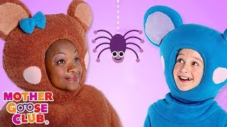 Itsy Bitsy Spider Time | Mother Goose Club Songs for Children | Songs for Kids