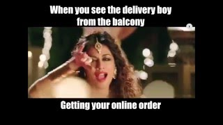 When you see the courier boy from the balcony | 9X Jalwa