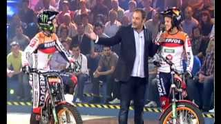 Toni Bou e Laia Sanz in tv