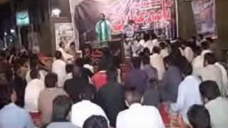 Sunni Alam irfan shah ka iqrar e Haq at  majlis 10 April 2015 1st Barsi Allama Nasir Abbas Multan