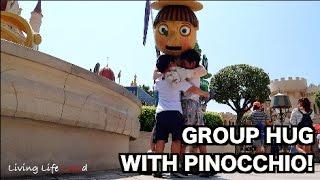 GROUP HUG WITH PINOCCHIO (UNIVERSAL STUDIOS SINGAPORE) | EP:41
