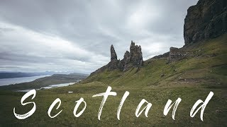 Beautiful Scotland   Aerial Drone / Time Lapse