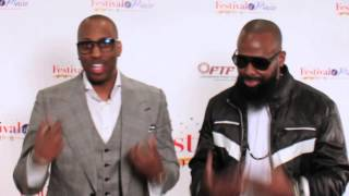 Isaac Carree and Marcus Wiley
