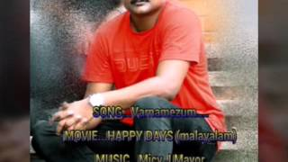 Happy Days malayalam movie RR Song