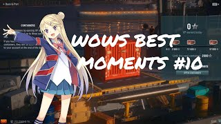 World of Warships Best Moments #10 Lolicon Minotaur and BASED FLAMU Edition